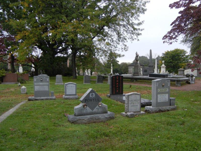 Woodland Cemetery in Philadelphia